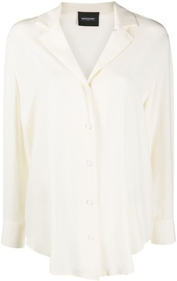 Simonetta Ravizza Long Sleeve Silk Shirt