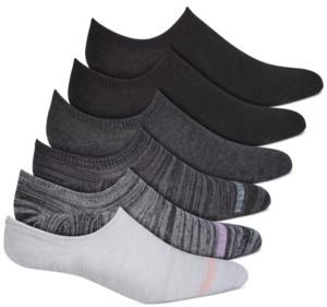 Warner's Women's 6-Pk. No Slipping No Sliding Invisible Cuff Sneaker Liner Socks