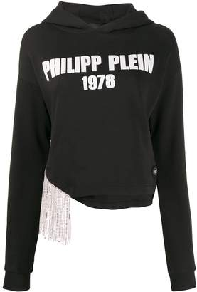 Philipp Plein cropped hoodie