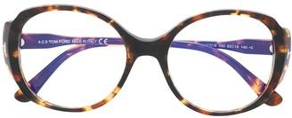 Tom Ford Soft-Round Frame Glasses