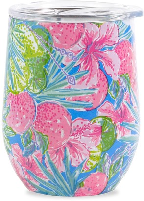 Lilly Pulitzer Printed Stainless Steel Wine Glass