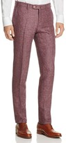 Valentini Mélange Textured Slim Fit Trousers