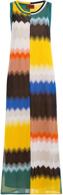 Missoni Chevron Panel Knit Dress