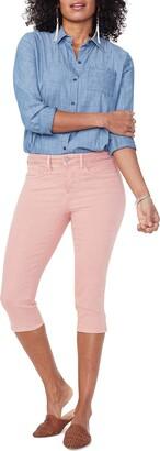 NYDJ Women's Misses Skinny Capri Jeans