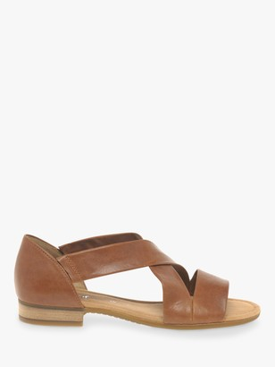 Gabor Sweetly Wide Fit Cross Strap Sandals