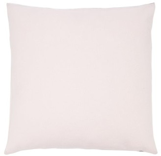 Allude Colour-block Cashmere Cushion - Pink Multi