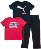 Puma Toddler Boy Tee & Pants Set