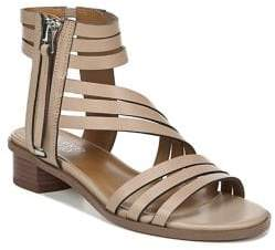 Franco Sarto Elma Strappy Leather City Sandals