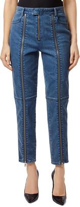 J Brand Connie Stun High-Rise Zip Cigarette Leg