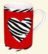 Konitz Caunitz Zebra Heart Mug 111 003 0857 (japan import)