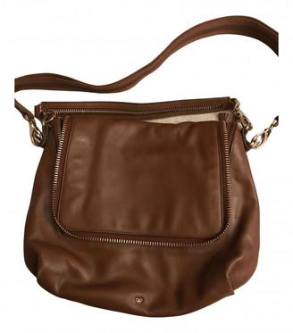 Anya Hindmarch Maxi Zip Brown Leather Handbags