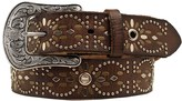 Ariat Studded Eyelet Leather Belt (For Women)