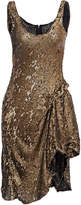 Maria Lucia Hohan Dominika Sequin Chiffon Dress