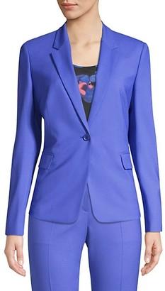 HUGO BOSS Jeniver Regular-Fit Stretch Wool Jacket