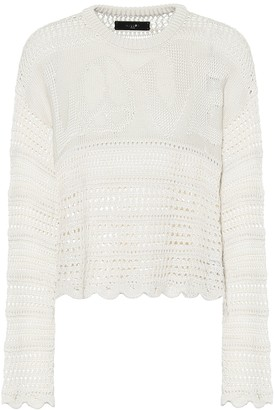 Amiri Love silk-blend sweater