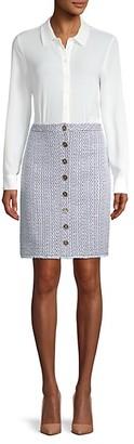 Karl Lagerfeld Paris 1-Piece Combo Dress