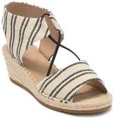 Eileen Fisher Agnes Knit Espadrille Wedge Sandal