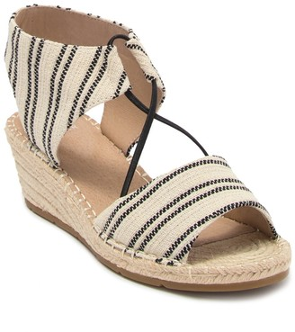 Eileen Fisher Agnes Knit Espadrille Wedge Sandal