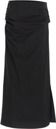 Georgia Alice Wool-Blend Suiting Skirt