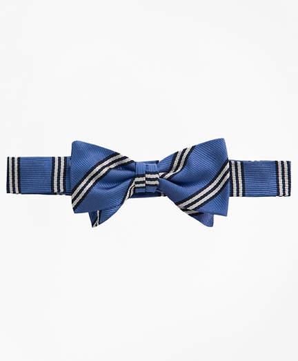 Brooks Brothers BB# 1 Stripe Pre-Tied Bow Tie