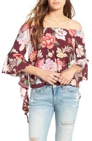 Majorelle Women's Thistleberry Off The Shoulder Top