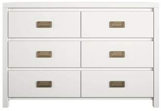 Little Seeds 6 Drawer Monarch Hill Haven Kids Nightstand White