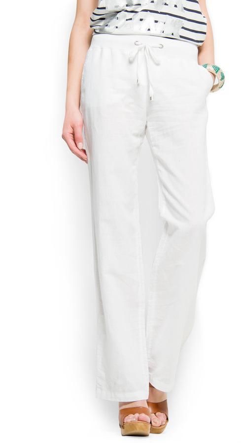 MANGO Wide leg trousers