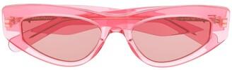 Salvatore Ferragamo Cat-Eye Frame Sunglasses