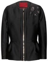 Moncler Gamme Rouge Embellished Satin Jacket