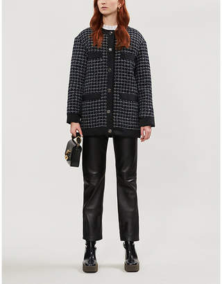 Sandro Patterned coat