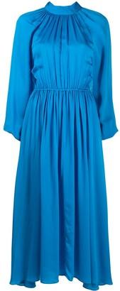 Rhode Resort Pleated High-Neck Dress