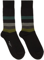Marni Black Stripe Socks