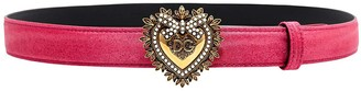 Dolce & Gabbana Heart Buckle Belt