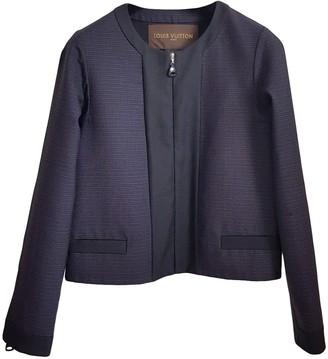Louis Vuitton Purple Wool Jackets