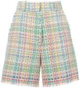 Thom Browne high waisted tweed shorts
