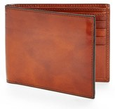 Bosca Men's Id Flap Leather Wallet - Brown
