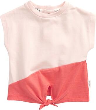 Miles Coral Colorblock T-Shirt
