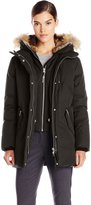Mackage Women's Marla Down Parka with Fur Trim Hood
