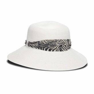 Smithsonian Institution Women's Adjustable Head Size Safari Round Crown Hat