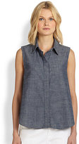 Rag and Bone Chambray Tent Blouse