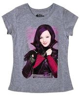 Disney Girls' Descendants Mal T-Shirt - Gray