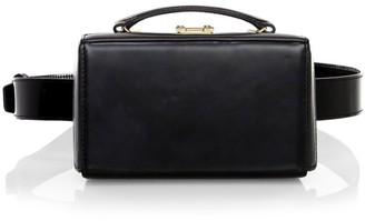 Mark Cross Small Grace Leather Box Belt Bag