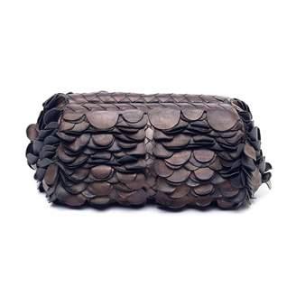 Bottega Veneta Metallic Leather Clutch bags