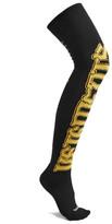 Vetements + Reebok Intarsia Knitted Socks - Black