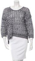 Inhabit Linen Open Knit Sweater w/ Tags