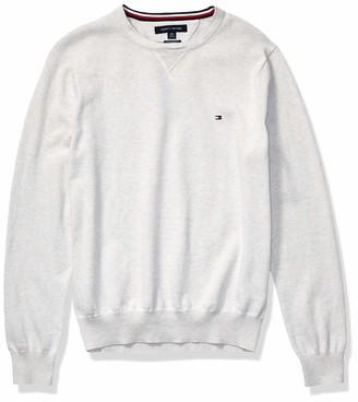Tommy Hilfiger Men's Solid Crewneck Sweater
