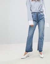 EVIDNT Slim Jean with Exposed Zip