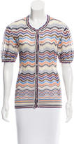 Missoni Knit Button-Up Top w/ Tags