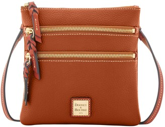 Dooney & Bourke Pebble Grain Triple Zip