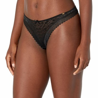 Pretty Polly Women's Graphic Mesh Thong